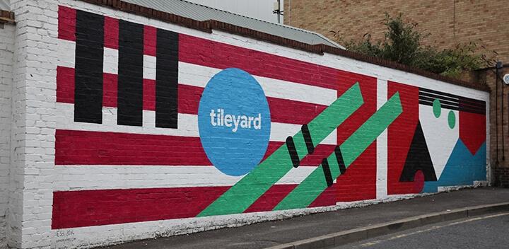 Tileyard Studios Wall