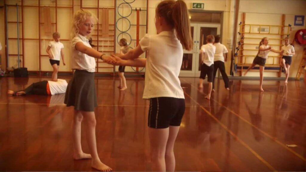 Artsmark Eldwick Primary School Children Practising Drama