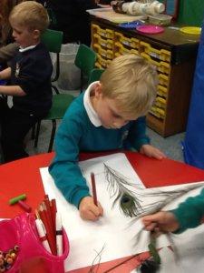 Artsmark Oldfield Primary pupil drawing