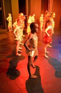 Artsmark St George's Primary School pupils learning ballet