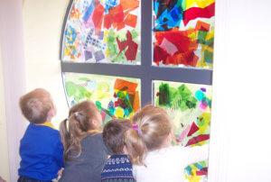 arts award explore through the colourful window