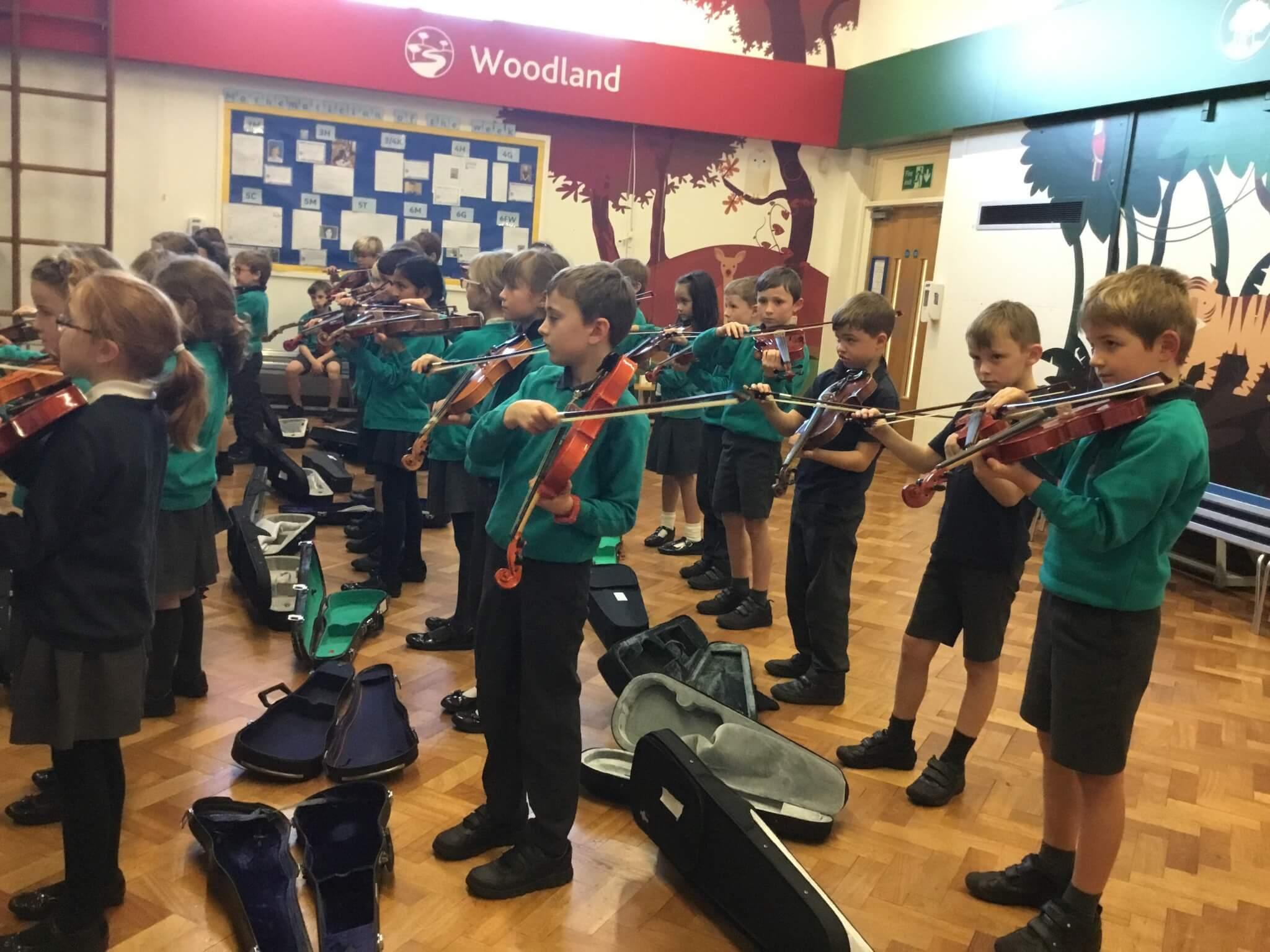 Oatlands Junior School Band 1