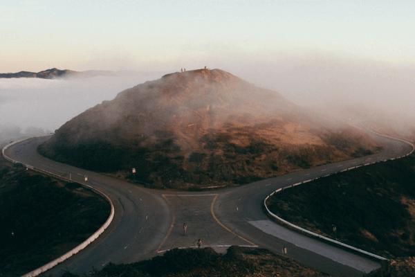 uncertainity business challenge 2 roads diverging