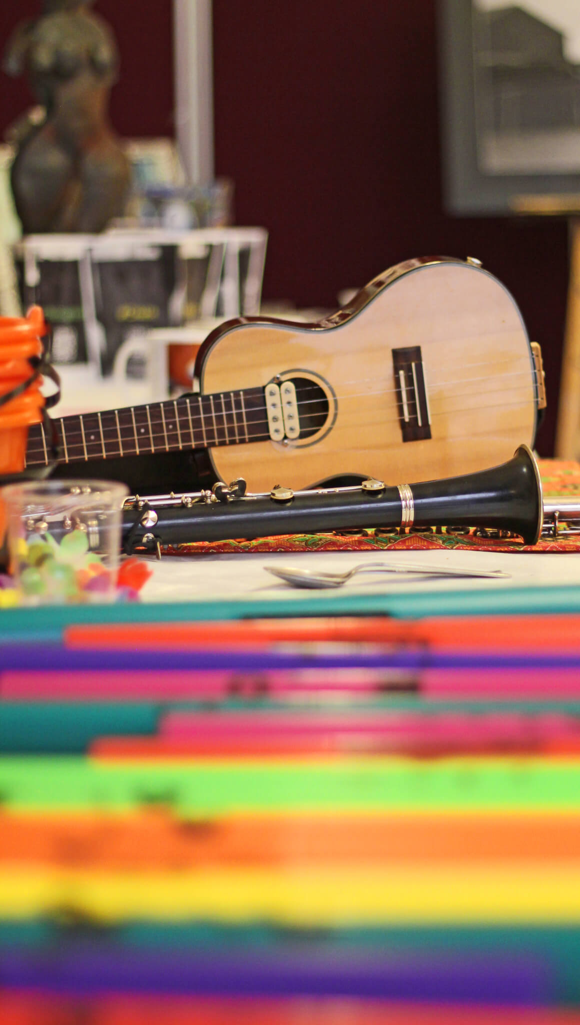Guitar at an Artsmark Partnership Event