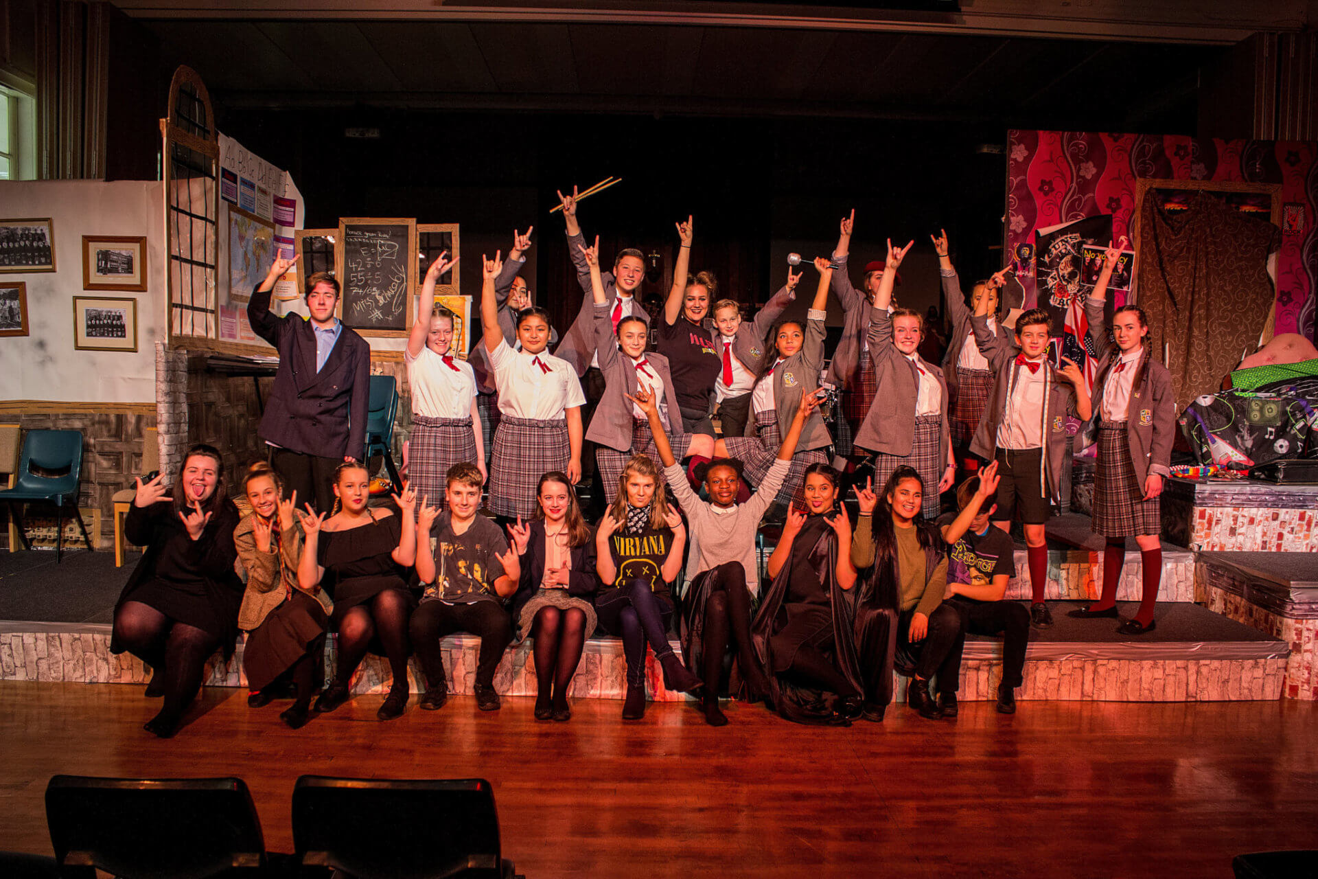St Bede's and St Joseph's School Performance Photo