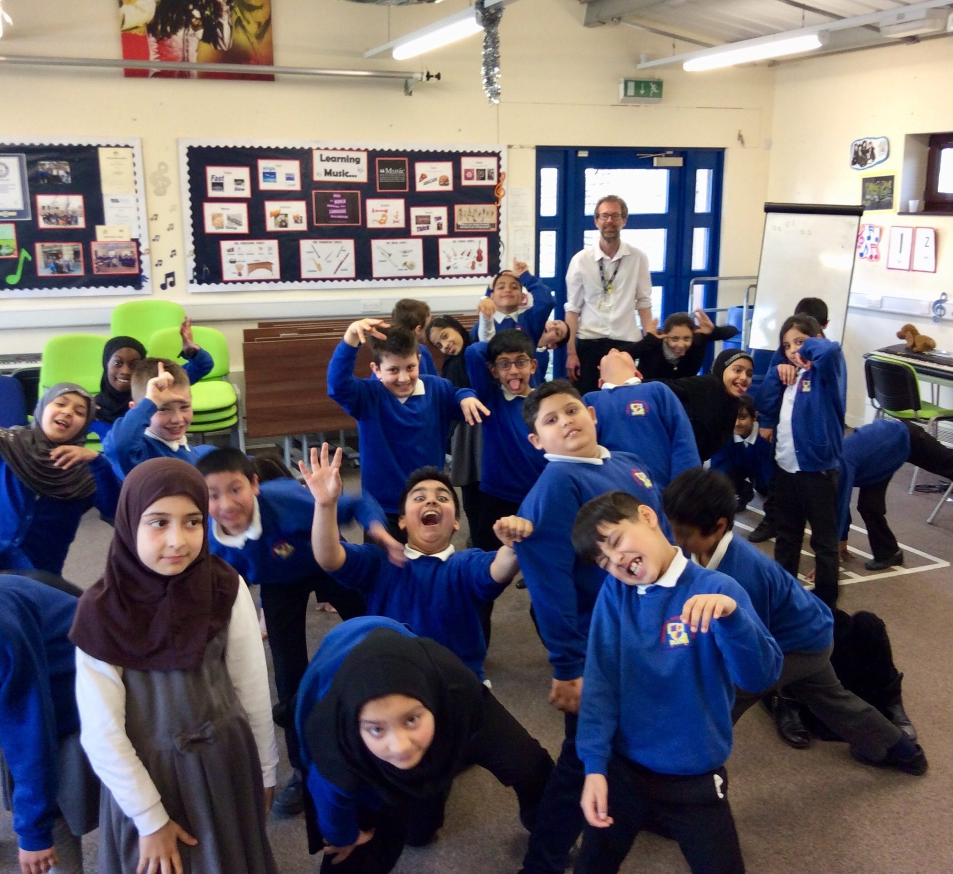 Feversham Primary School Case Study Children Dancing