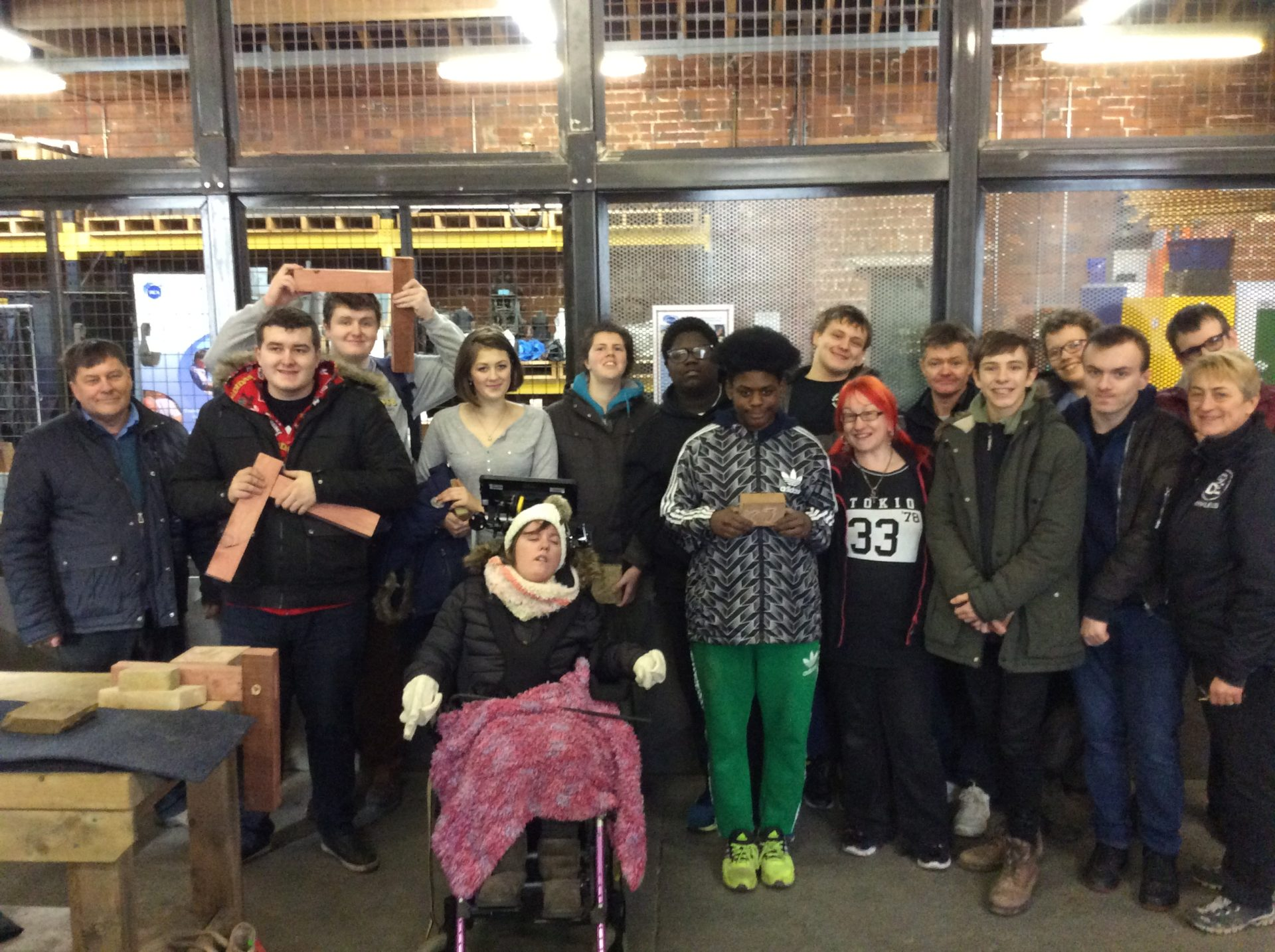 Heritage skills taster session at the National Coal Mining Museum