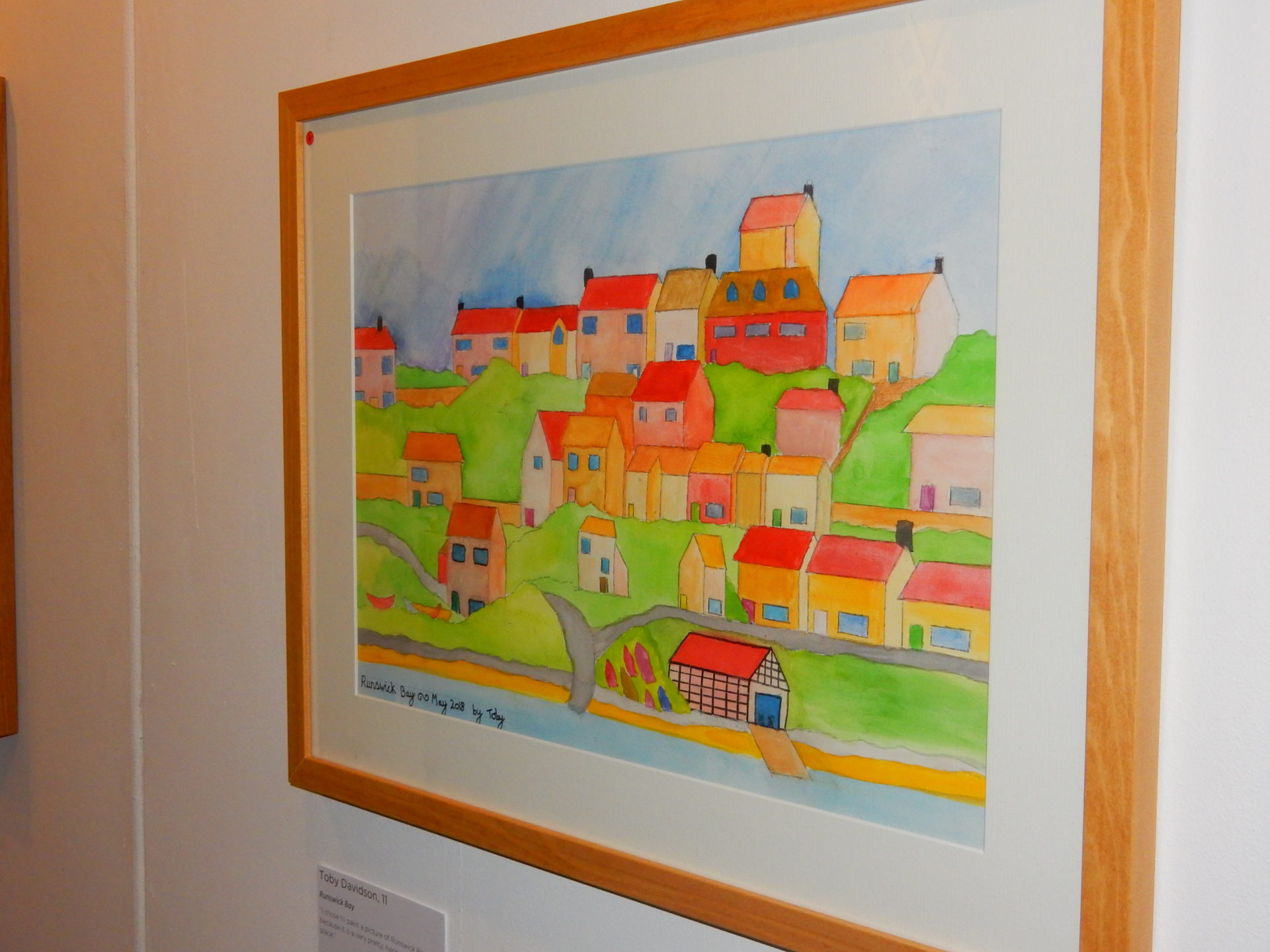 Runswick Bay by Toby Davidson Young Artists Collection