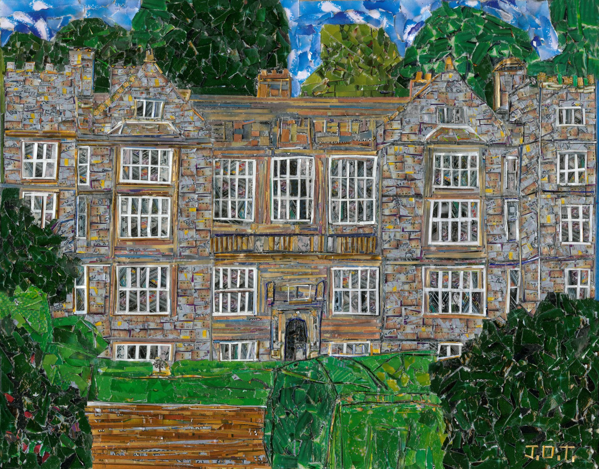Fountains Hall by James Thomas - Young Artists Collection