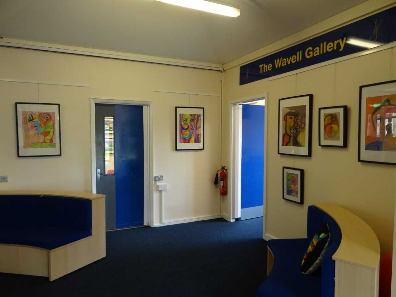 Gallery of Artwork at Wavell Junior School
