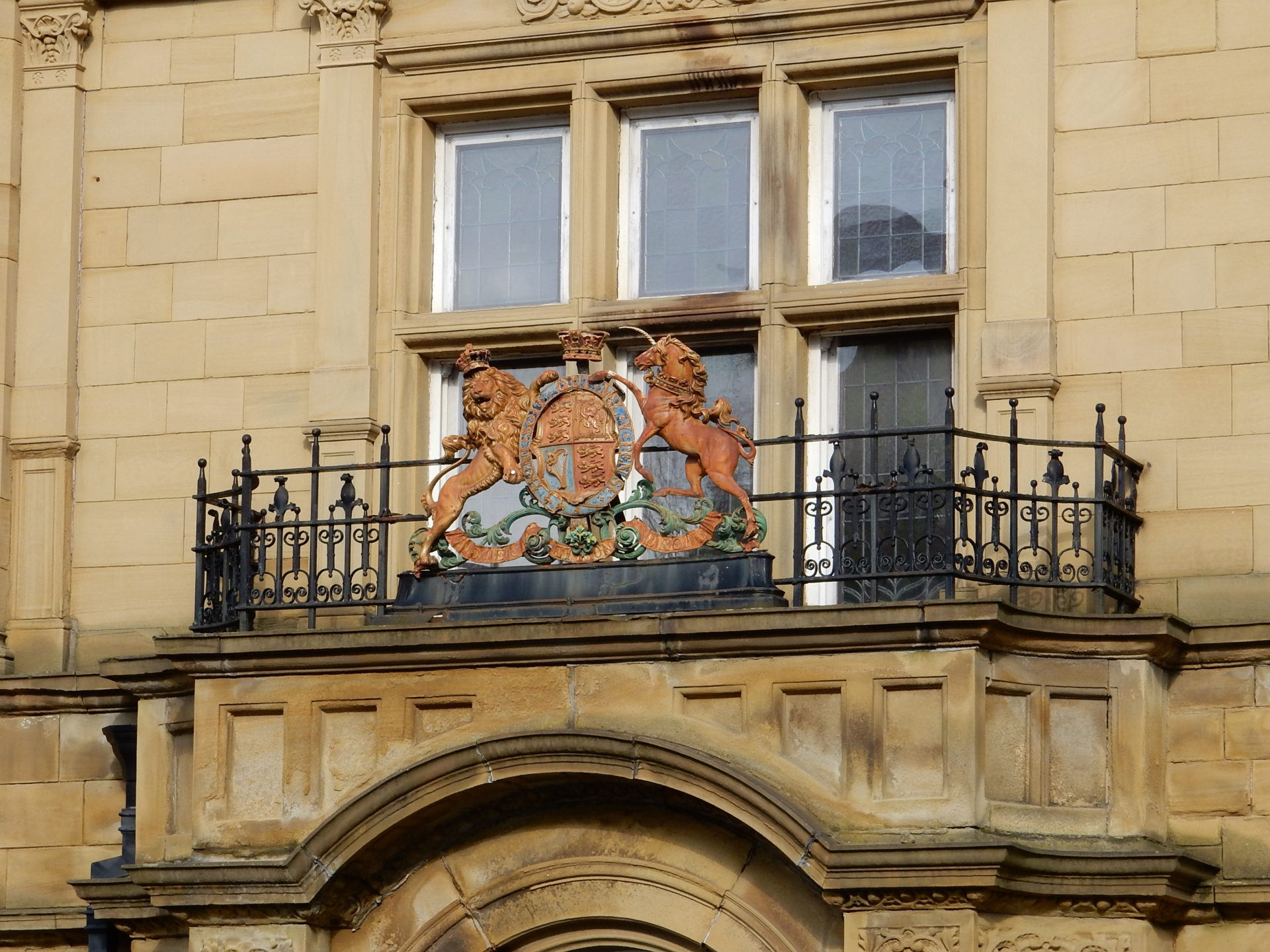 Halifax Magistrates' Court Crest
