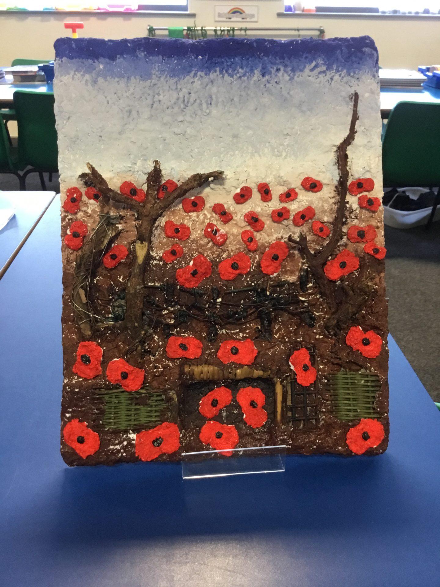 Poppy Art at The Grange Primary School