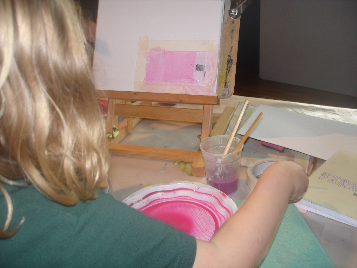 Pupil Painting at Bridgeview Whitehouse