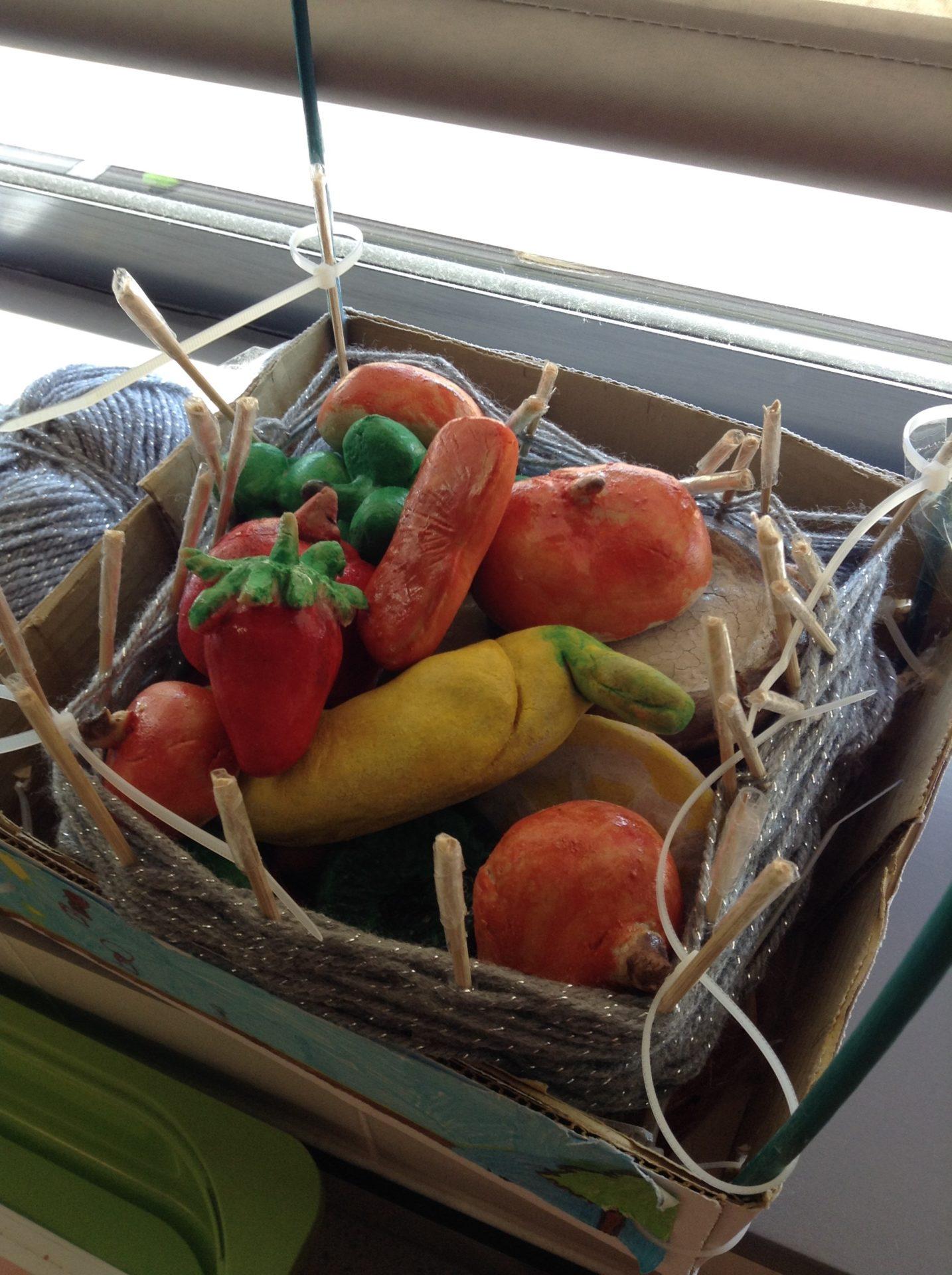 Salt Baked Fruit at The Grange Primary School