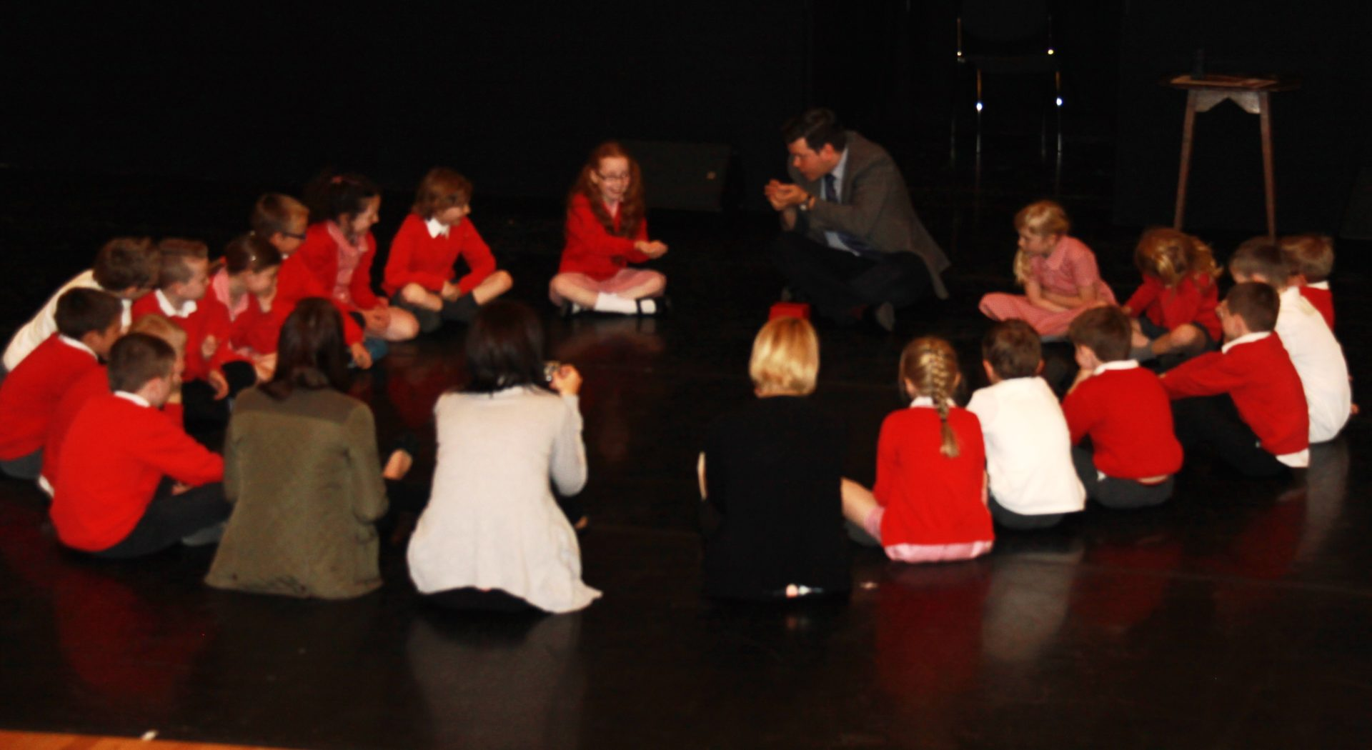 Brierley Church of England Primary pupils at Barnsley Civic Theatre