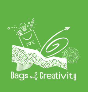 Bags of Creativity logo green 7-11