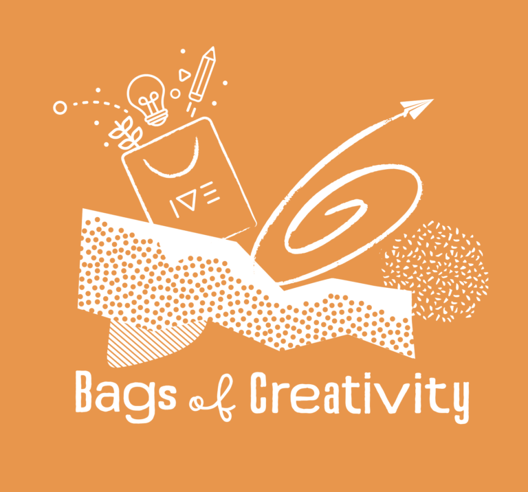 Bags of Creativity logo Orange 2-6
